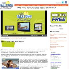 The Take Five Method Site